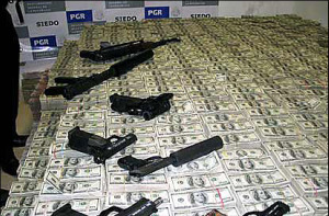 The money and guns are a good indicator of the motivation!