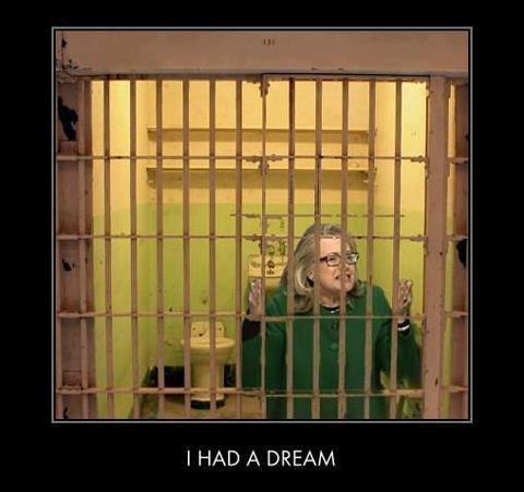 hillary in jail