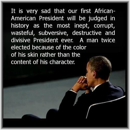 Obama inept and corrupt