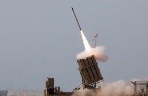 Iron Dome firing