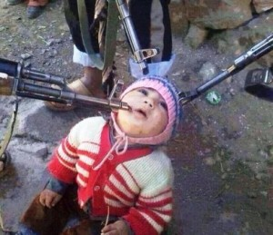 """""""Our youngest hostage from among the hostile sects of Kessab."""""""