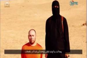 Journalist Sotloff, just before his Murder