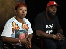 The parents of Michael Brown, Lesley McSpadden and Michael Brown Sr., traveled to Geneva to address a U.N. committee Tuesday. (AP File Photo)
